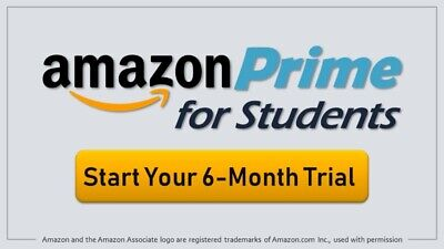 Amazon Prime Student 6 Months Access+Benefits+More!!