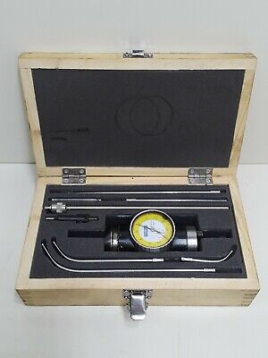 Fowler Inch Coax-2D 2 Dimensional Coaxial Dial Indicator Set in Shars Case