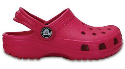 NEW GENUINE: Crocs Kids Classic Candy Pink