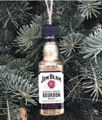 Jim Beam Whiskey Christmas Ornament
