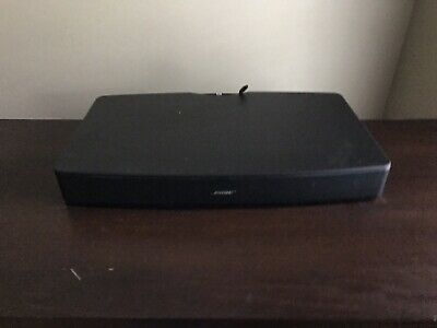 Bose Solo TV Sound System Speaker Model 410376 with Remote & Optical Cable