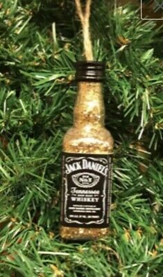 Jack Daniel's Whiskey Christmas Ornament