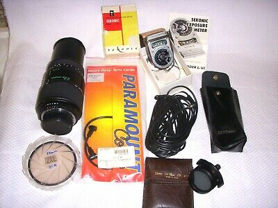 Lot of Vintage Camera Parts and Accessories