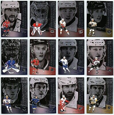 2017-18 Ud Tim Hortons Platinum Profiles Insert Cards - Pick Singles Finish Set