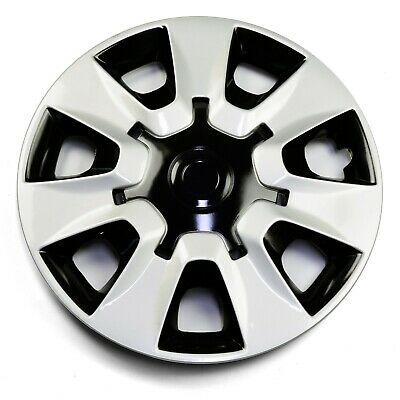 1x Silver Hubcap 15 Inch For Corolla Set of 4 OEM Replacement Wheel Cover ABS