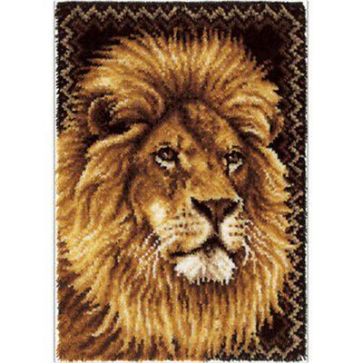 DIY Latch Hook Kits Needlecrafts Gift 85cm*63cm Rug lion Rug
