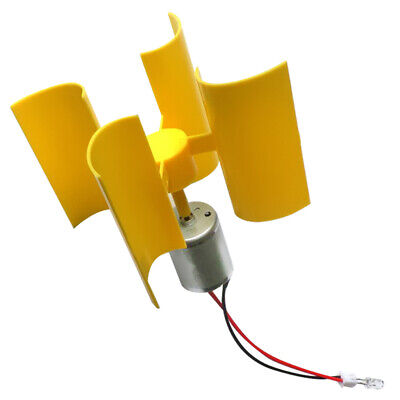 Mini Wind Generator Miniatur Windturbine Modell Set Kits,200x190x130mm