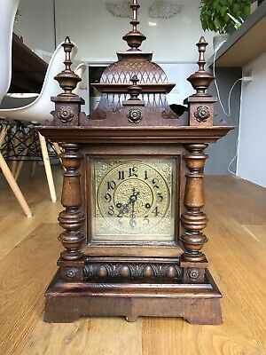 *** Antique Victorian Mantle Clock ***