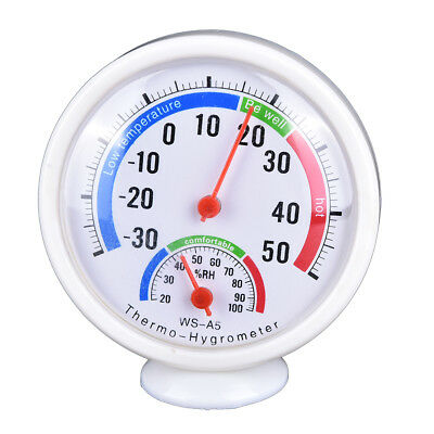 Digital Indoor Outdoor LCD Thermometer Hygrometer Temperature Humidity Meter ZH
