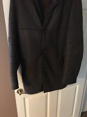 Turnbull and Asser leather coat