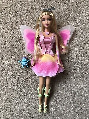 Barbie Fairytopia Elina Doll and Bibble 2005 LIGHT UP WINGS
