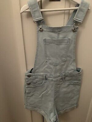 Seed Teen Denim Overall Shorts 10
