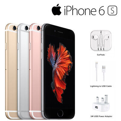 New Apple iPhone 6S 64GB - Factory Unlocked Sim Free Smartphone Various Colours