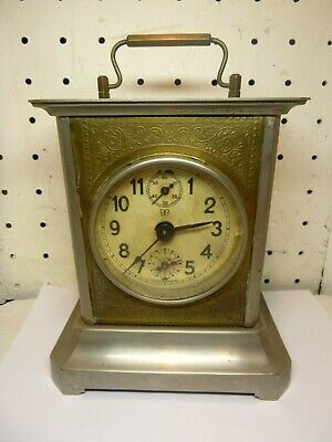 Antique 1890 Junghans-Music Box Alarm Clock- A26 Hand-Ornate- all work well
