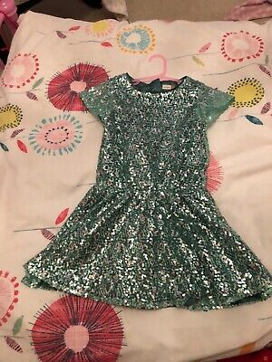 girls john lewis sequin party dress age 5