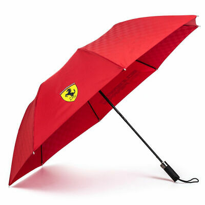 Official Scuderia Ferrari Compact Umbrella Red | F1 Winter Christmas Gifts