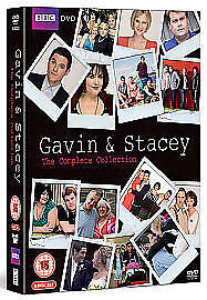 Gavin And Stacey - Series 1-3 & 2008 Xmas Special (DVD, 2009, 6-Disc Set) - New
