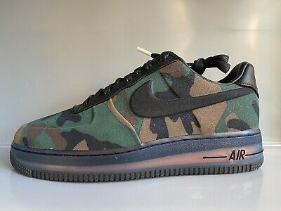 NIKE AIR FORCE 1 Mid CUSTOM PAINTED DIGITAL CAMO SIZE EUR 43