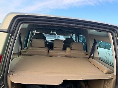 1999-2004 Land Rover Discovery 2 Rear Trunk Cargo Privacy Shade Cover Tan
