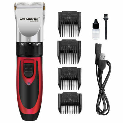 Pet Dog Cat Clipper Grooming Trimmer Hair Cut Professional Electric Shaver Kit