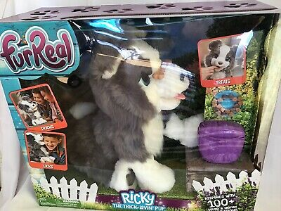 FurReal Ricky the Trick Lovin Pup Dog ~ NEW 100+ Sound & Motion Combinations