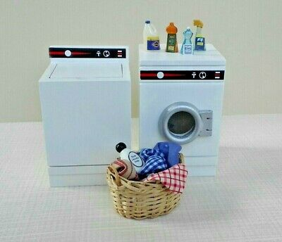 Dollhouse Miniature Modern Washer Washing 1:12 one inch scale D16 Dollys Gallery