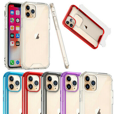 Shockproof Soft Bumper Case For iPhone 11 Pro Max XS XR 8 7 6S Hybrid Back Cover