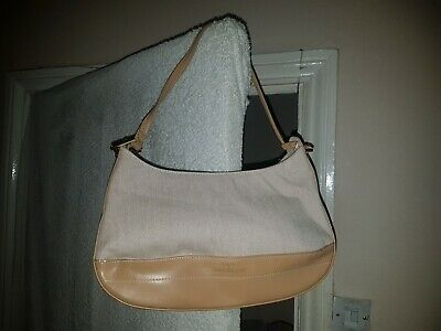 Ladies Cream Beige Handbag Clutch Bag Purse Brand New Without Tags Lovely!