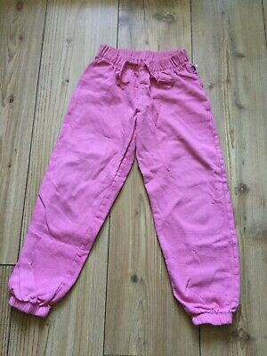 Mothercare girls' pink tracksuit trousers (6-7 years), pre-owned.