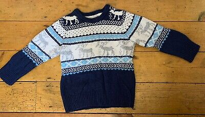 H&M Christmas Jumper 2-4 Years