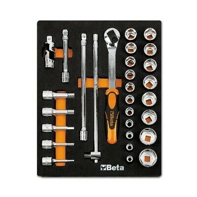 Beta Tools, 024500082 M82 Assortment Set of Ratchet with Accessories