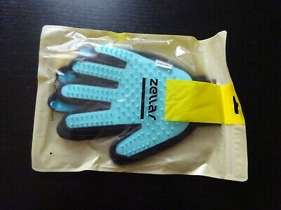 **Zellar Pet Cat Dog Grooming Gloves (Pair)**