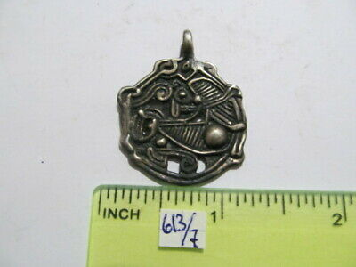 Ancient silver amulet Vikings 8-11 AD № 613/7 (copy)