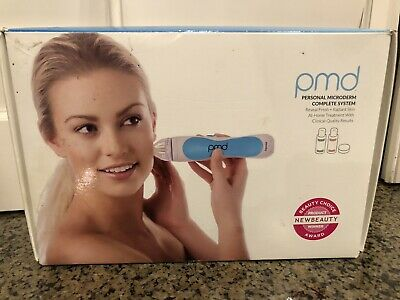 PMD Personal Microderm Microdermabrasion Kit Complete Skin Care System Womens