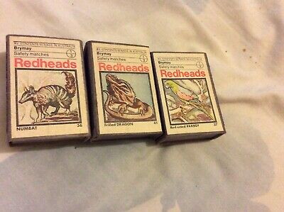 Match Boxes Made In Australia Vintage