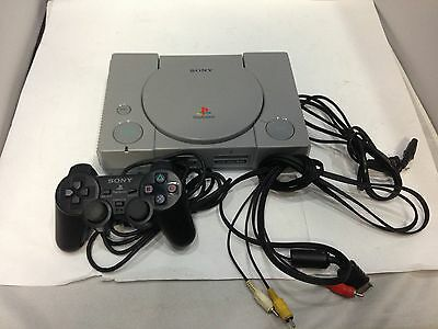 PS1 console Sony PlayStation SCPH-7000 w/ Black Controller Free Shipping