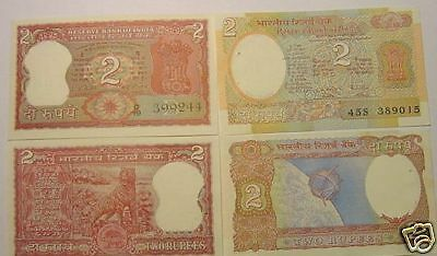 Rs Extremely Rare India Old Currency 8 Different Notes Set UNC GEM Rupees