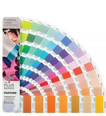 PANTONE Formula Guide Solid Uncoated Shows all 1867 colours  The latest version.