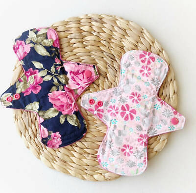 Handmade Reusable Cloth Pads- Two Pack