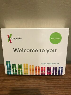 23andMe DNA Test ANCESTRY Personal Genetic Service Lab EXP 2021/05