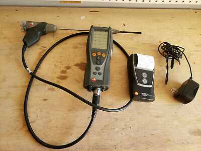 Used Testo 327 Combustion Analyzer w/ Printer. Needs New O2 sensor