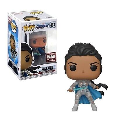 Avengers Endgame Valkyrie with White Suit Collector Corps Exclusive Pop! Vinyl