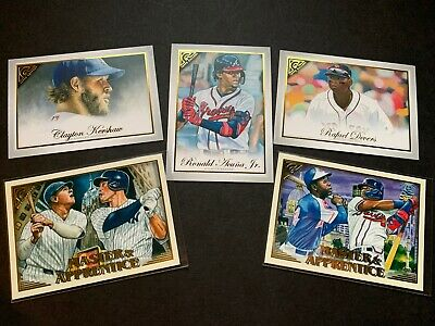 2019 Topps Gallery Base & Inserts Pick Your Card - Complete Your Set