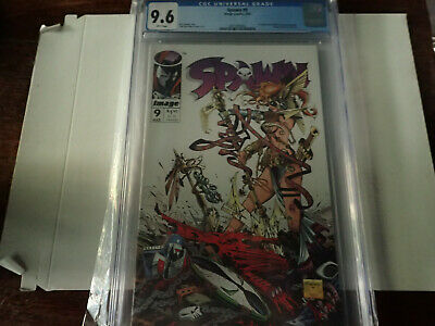 Spawn #9 CGC 9.6 1st App of Angela Medieval Spawn NM+ 1993 McFarlane Gaiman