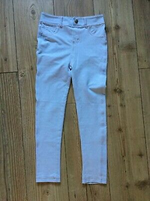 Misomini girls' Pale blue jeans (jeggings) (9 -10 years), pre-owned.