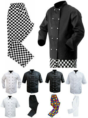 Chef Jacket Jackets Full / Short Sleeves Mesh Back Chef Pants Clothing Trousers