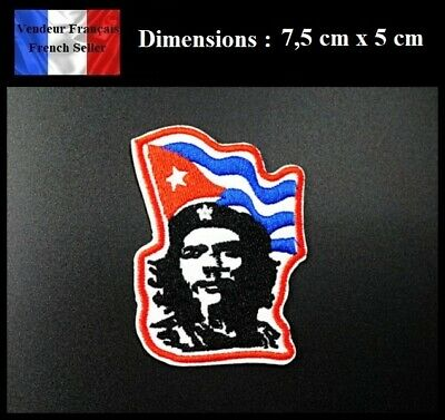 Écusson Brodé Thermocollant NEUF ( Patch Embroidered ) - Che Guevara ( Ref 2 )