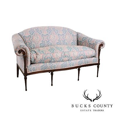 E.J. Victor Regency Style Mahogany Sofa or Loveseat