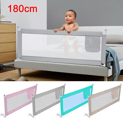 180CM Bed Safety Guards Folding Child Toddler Bed Rail Safety Protection New