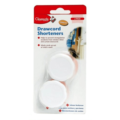 Clippasafe Drawcord Shortener – 2 Pack